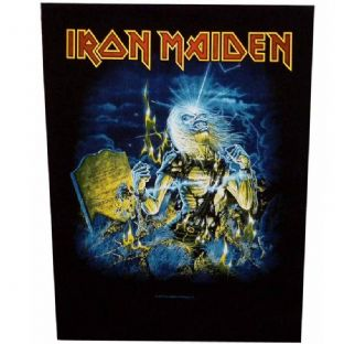 Iron Maiden - Large Sew On Patch (2)